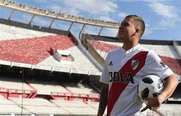 Mirá las mejor postales de Juan Fernando Quintero tras su llegada a River Plate