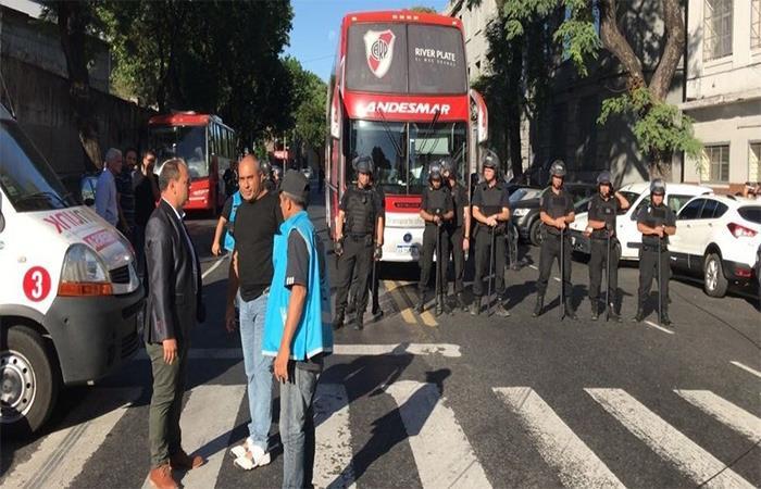 Amenaza de bomba en el encuentro de Huracán vs River Plate (Foto: Twitter)