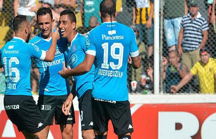 Belgrano derrotó 2-1 a Olimpo. Foto: Twitter