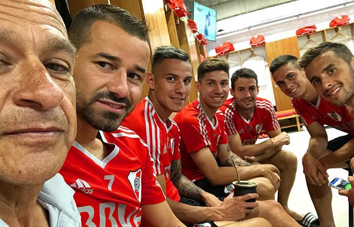 Rodrigo Mora regresó a las canchas tras ocho meses de ausencia. Foto: Twitter