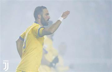 De la mano de Higuaín, la Juventus se acerca a una nueva final por la Coppa de Italia