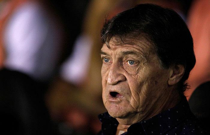 Julio César Falcioni, técnico de Banfield. (AFP)