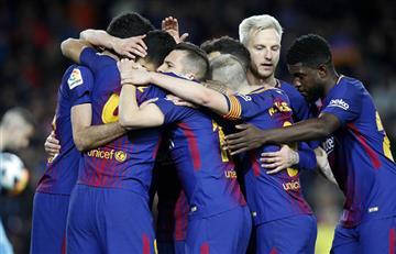 Barcelona ganó por la mínima al Valencia por las semifinales de la Copa de Rey