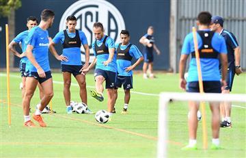 San Lorenzo alista al once que jugará ante Boca Juniors