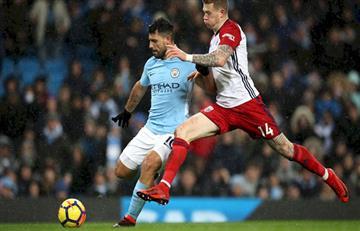 Sergio Agüero se acerca a Harry Kane en la tabla de goleadores de la Premier