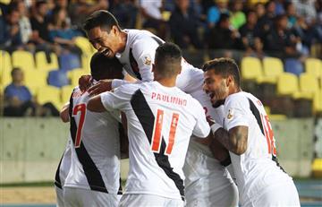 Vasco da Gama aplastó a la U de Concepción por la Copa Libertadores