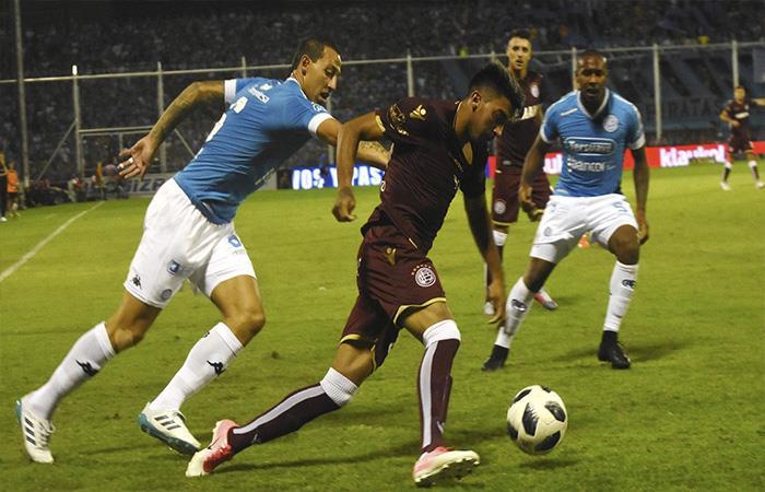 Belgrano igualó 0-0 ante Lanús. Foto: Twitter