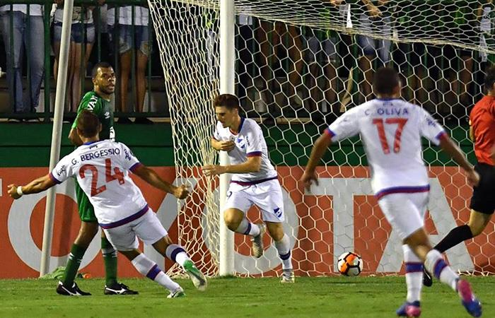 Nacionl (U) podría ser expulsado de la Copa Libertadores. Foto: Facebook