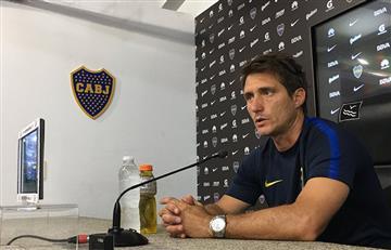 """Guillermo Barros Schelotto: """"Lo de Gustavo Gómez está caído"""""""