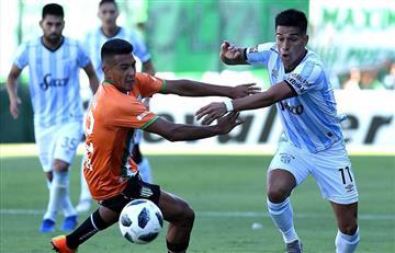 Banfield y Atlético Tucumán se reparten los puntos