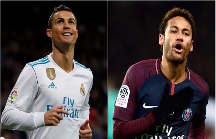 Cristiano Ronaldo enfrentará a Neymar en duelo imperdible. (AFP). Foto: AFP