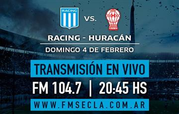 Racing Club vs Huracán: EN VIVO ONLINE por la fecha 14 de la Superliga