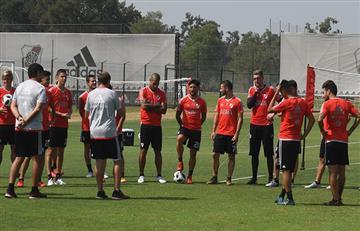 River Plate derrotó 2-0 a Olimpo con doblete de Nacho Scocco