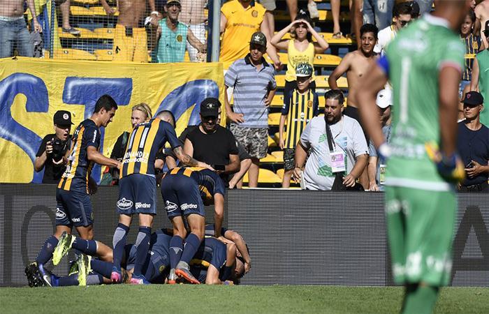 Triunfo sufrido para Rosario Central (Foto: Twitter)