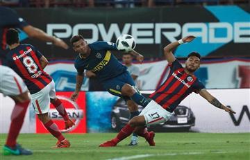 San Lorenzo y Boca Juniors empataron 1-1 en polémico partido