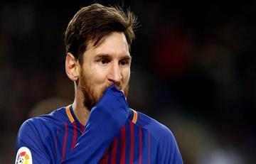 El Barcelona con Lionel Messi desde el banquillo, igualó 1-1 con el Espanyol