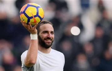 Gonzalo Higuaín brilló en la victoria de la Juventus
