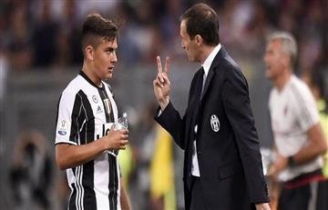 Massimiliano Allegri quiere que Dybala se recupere para enfrentar al Tottenham