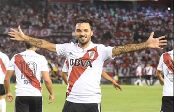 VIDEO: Mirá el espectacular gol de Ignacio Scocco en el triunfo de River Plate