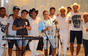 Carlos Tevez cumple sus 34 acompañado del Chiqui Tapia