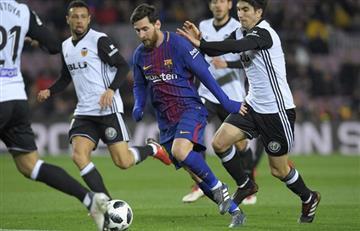 El Barcelona alista la semifinal ante el Valencia con Lionel Messi