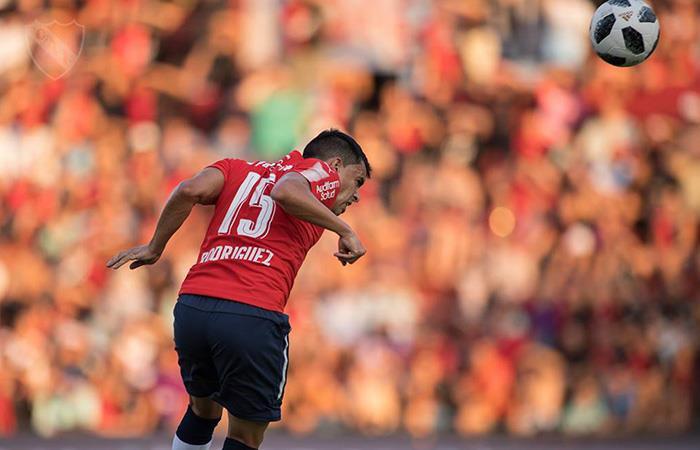 Diego Rodríguez se perderá el partido de ida por la Recopa Sudamericana ante Gremio (Foto: Facebook)