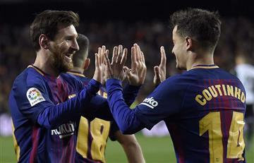 Barcelona de Lionel Messi en la final de la Copa del Rey