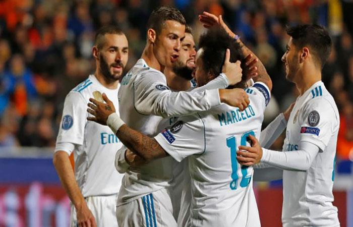 Real Madrid. (AFP). Foto: AFP
