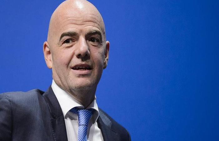 Gianni Infantino. (AFP)
