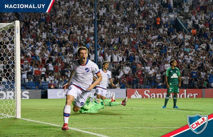 Nacional de Uruguay avanza en la Copa Libertadores. Foto: Twitter