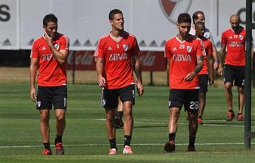 Se preparan dos cambios en River Plate para visitar a Lanús