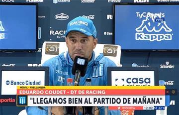 """Eduardo Coudet: """"Tengo la ilusión de que Lautaro se quede hasta diciembre"""""""