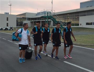 Racing Club: El cariño de los jugadores hacia sus hinchas
