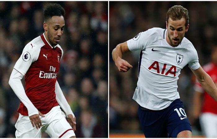 Aubameyang y Harry Kane serán los encargados de los goles. (AFP)