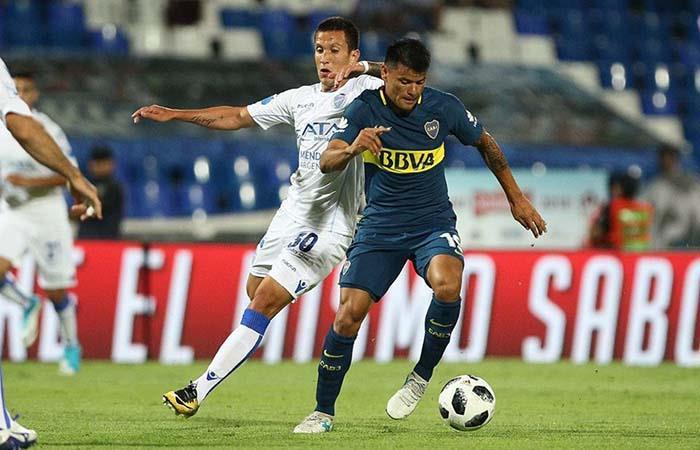 Walter Bou será el reemplazo de Pablo Pérez ante Temperley. Foto: Facebook