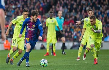 Barcelona con Lionel Messi igualó sin goles ante el Getafe