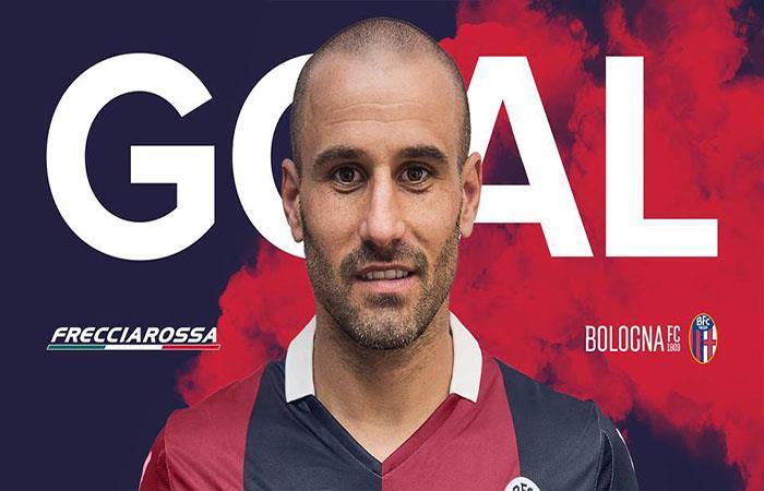 Rodrigo Palacio anotó en la derrota del Bologna. Foto: Facebook