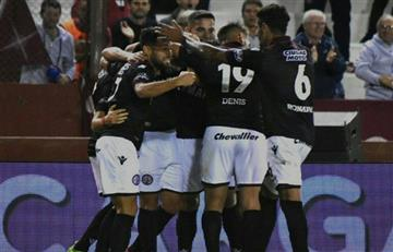 Lanus se impuso de local ante River Plate