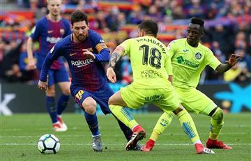 Lionel Messi alcanzó los 300 partidos en el Camp Nou