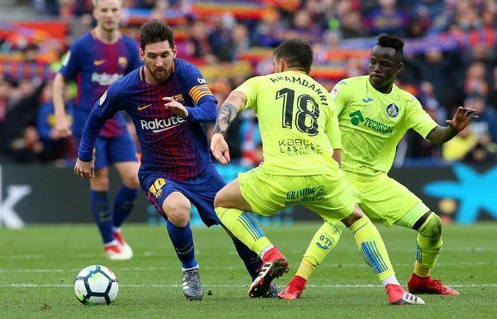 Lionel Messi cumple una nuevo récord con el Barcelona (Foto: Twitter)