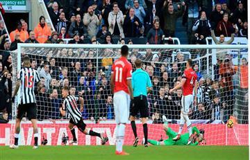 Newcasttle dio la sorpresa y venció al Manchester United