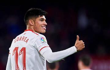 Sevilla derrotó al Girona con gol del argentino Joaquín Correa