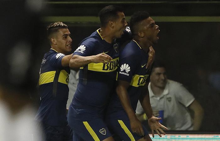 Boca logró una victoria sufrida ante Temperley en la Bombonera (Foto: Twitter)