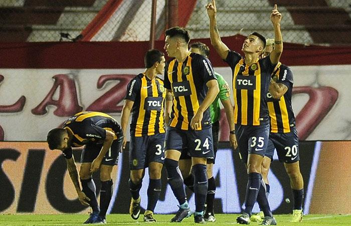 Rosario Central se impuso por 3-2 ante Huracán (Foto: Twitter)