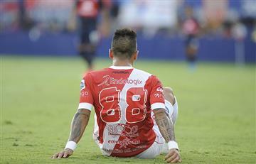 Argentinos Juniors: Lucas Barrios sufrió lesión que lo alejará de las canchas