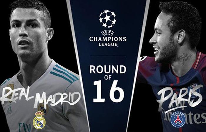 El Real Madrid y el PSG chocan en el encuentro más espectacular de la fecha. Foto: Twitter