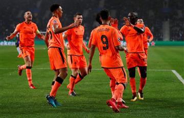Liverpool con medio pasaje en cuartos de final de la Champions League