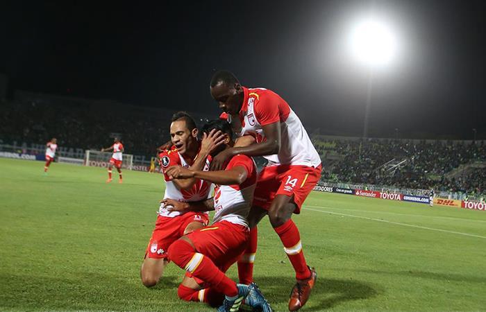 Santa Fe se llevó importante triunfo ante Wanderers por la Conmebol Libertadores (Foto: Facebook)