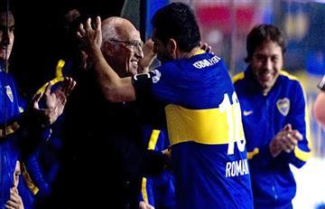 El reencuentro de Juan Román Riquelme y Carlos Bianchi