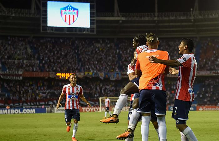 Junior se impuso 1-0 ante Guaraní (Foto: AFP)